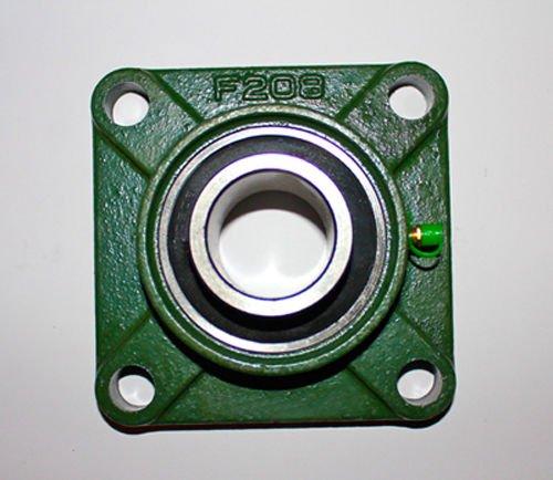 UCF 208/ucf208(4fori flangia, 40mm) in lega con finitura protettiva Hammerite® per diametro interno 40mm alesaggio flanschlagereinheit UC F208