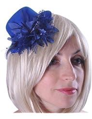 Style Nuvo - Bibi Floral Femme Plume Pince Accessoire Costume Déguisement