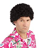 NEW BLACK TIGHT CURL AFRO WIG