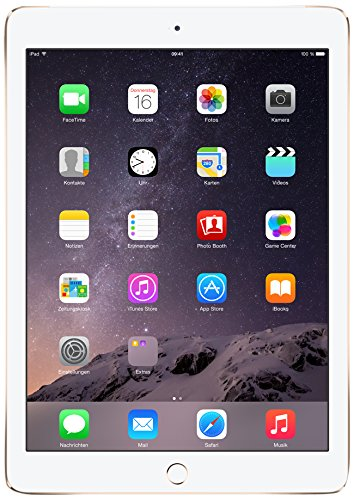 Apple iPad Air 2 24,6 cm (9,7 Zoll) Tablet-PC (WiFi/LTE, 128GB Speicher) gold (Ipad Air 2 128 Cellular)