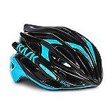 Kask Unisex CHE00044  Mojito16 Helm,  mehrfarbig(Black/Azzuro),52-58 cm (M)