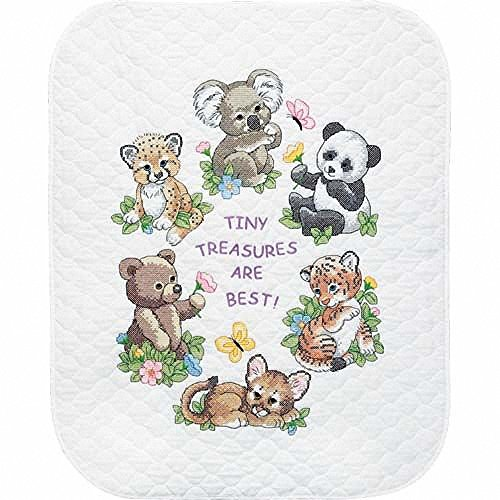 dimensions-baby-animals-stamped-cross-stitch-quilt-multi-colour