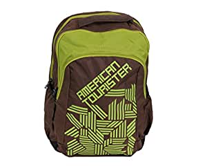 American Tourister 30 Ltrs Brown Casual Backpack (AMT BACKP 2016 CODE 09 -BROWN)