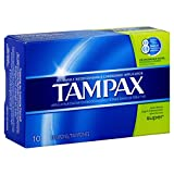 TAMPAX SUPER FLUSH APPL 10 by Tampax