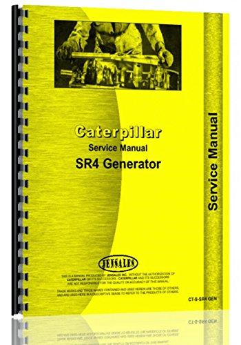 Caterpillar Generator SR4 Operators Manual