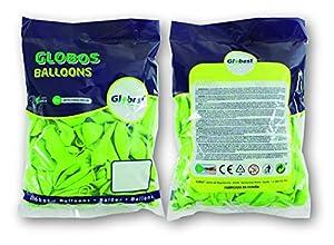 Globest- Globos de látex decoración, Color pistacho (Festival 50342)