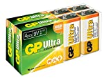 GP Ultr Alkaline C, D & 9V from GP