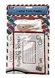Lettera St@llion da Babbo Natale completa di lettera e busta bianca pre-indirizzata.