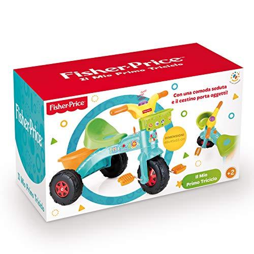 Grandi Giochi- Fisher Price Primo Triciclo, GG01813, Multicolore