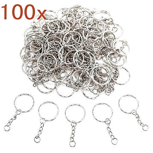 JZK 100 X Anilla llavero anillas llaveros