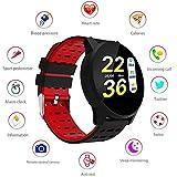 LayOPO Smart Watch Sbloccato, Impermeabile Bluetooth Frequenza Cardiaca Tracker Fitness Pedometro...