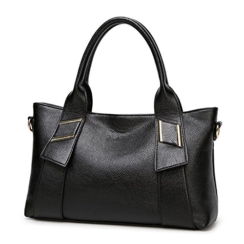 Mefly Nuova Donna Borsetta Europei E Americani Del Fashion Borsa A Tracolla Giallo black