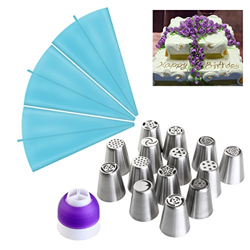 ounona-14pcs-russian-piping-tips-piping-nozzles-stainless-steel-icing-nozzles-with-3-pcs-14-inch-pip