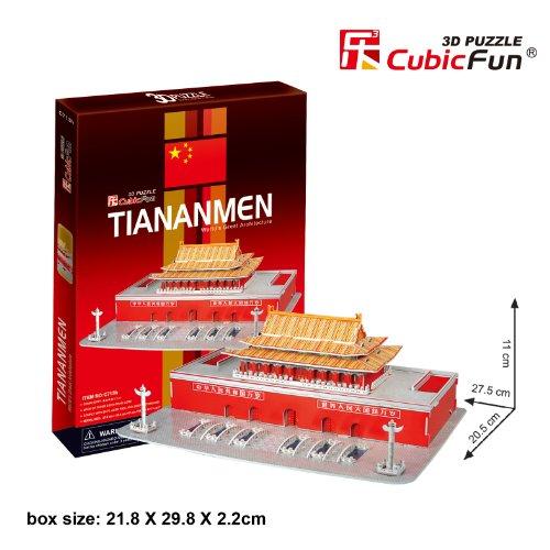 """CubicFun 3D Puzzle C-Serie """"Plaza de Tian'anmen - Pek?n"""""""