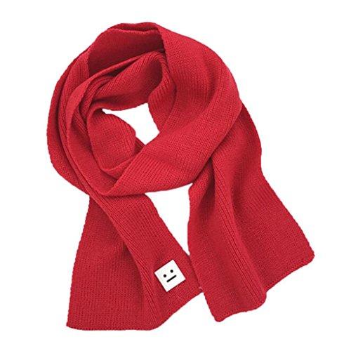 Kids Scarf, SHOBDW Girls Boys Fashion Smile Knitted Scarf Winter Keep Warm Children Scarves