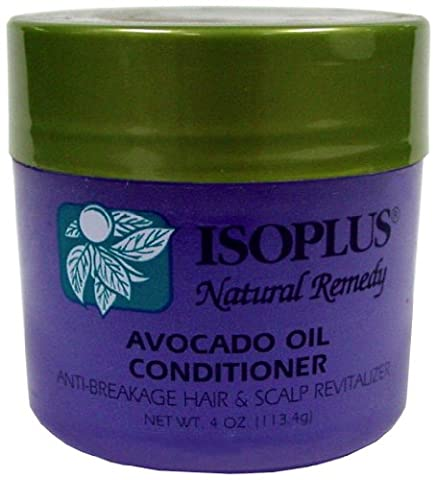 Isoplus Natural Remedy Avocado Oil Conditioner 120 ml (Pack of 2)