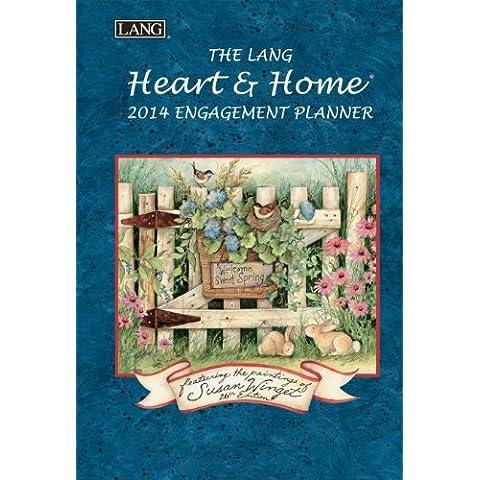 Lang corazón y hogar 2014compromiso calendario Planificador