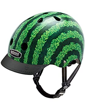 Nutcase Gen3, Casco de Ciclismo Unisex adulto, Multicolor (Watermelon), S (52-56 cm)