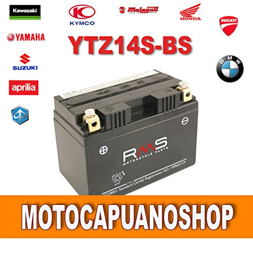 BATTERIA RMS YTZ14S-BS HONDA VT C Shadow 750 1997 1998 1999 2000