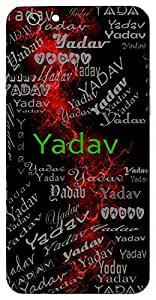 Yadav (Lord Krishna) Name & Sign Printed All over customize & Personalized!! Protective back cover for your Smart Phone : Samsung Galaxy S5mini / G800