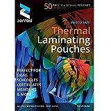Hochglanz-Laminierfolien, DIN A4-Format, Laminattaschen, 150Mikron (75+ 75Mikrometer), glänzende Laminattaschen A4 Size: 303 x 216mm. Transparent High Gloss