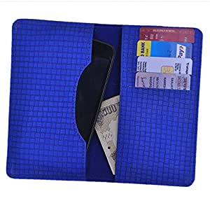 DCR Pu Leather case cover for iPhone 6s (blue)
