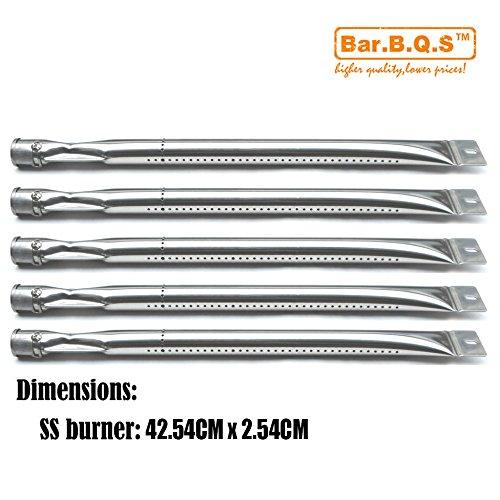 Bar. b.q.s b15601(5er Pack) Edelstahl Grill Brenner Ersatz für Select Kenmore und Master Forge Gas Grill Modelle