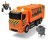 Dickie Toys 201119084 - RC Antos Garbage Truck, Ferngesteuertes Müllauto von Mercedes Benz, 40cm