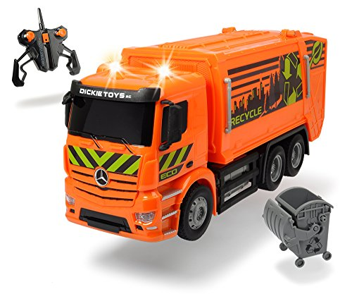 Dickie-Spielzeug 201119084 - RC MB Antos Garbage Truck, Ferngesteuerte Fahrzeuge