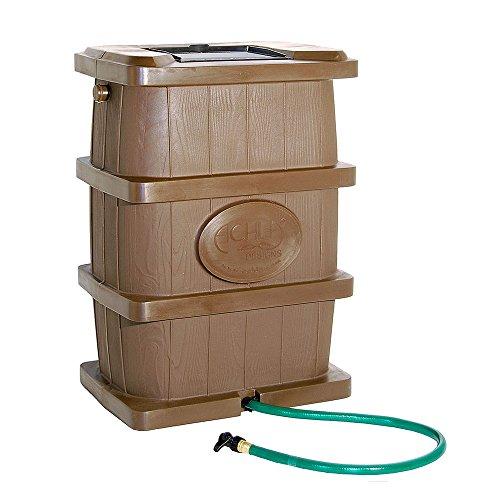 Achla Designs rb-03legno acqua piovana, colore: marrone