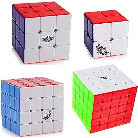 Vdealen Cyclone Boys 2x2x2,3x3x3,4x4x4,5x5x5 Cubo Magico Inteligencia magic cube Juego de Puzzle