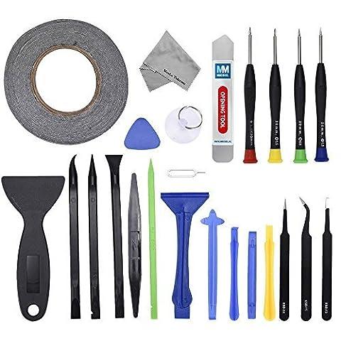 24 In 1 Reparatur Öffnungs Werkzeug Tool Kit inkl. 50