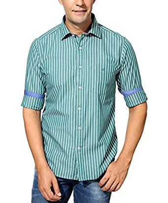 Byford By Pantaloons Men's Shirt 205000004473589_Green_44