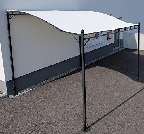 Wand Anbau Pavillon 3 x 2,5 Meter mit Dach Model Siena-7107 von AS-S