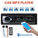 Tuankay The Diwali Christmas Halloween External Flash Drive Car Stereo in Dash Bluetooth MP3 Player Aux Input USB FM Radio Receiver