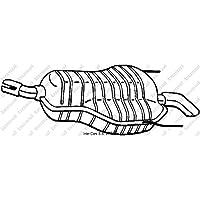 Bosal 185-489 Endschalldämpfer