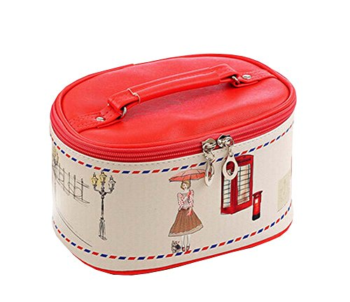 Household Essentials Toilettage Voyage Cosmetic Bag PU Maquillage Organisateur C