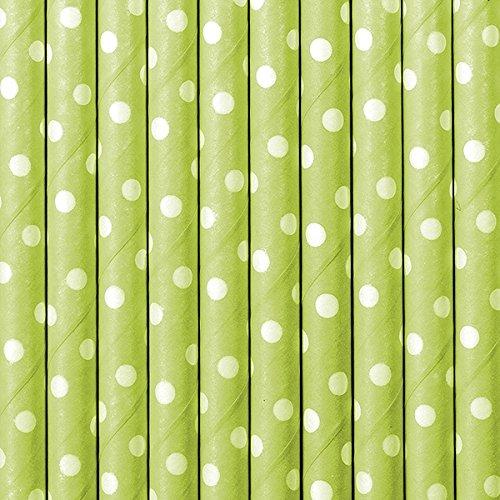 rinkhalme Strohhalme (grün gepunktet) ()