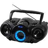 Telefunken RC1002BM Lecteur CD portable Bluetooth Tuner PLLRadio FM AUX-IN Alimentation à piles/sur secteur