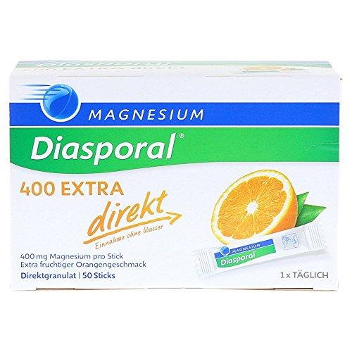 Magnesium-Diasporal 400 EXTRA direkt, 50 St. Direktgranulat