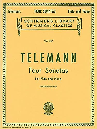4 Sonatas -Fo Flute & Piano- (Lb1767): Noten für Flöte, Klavier (Schirmer Library of Classics, Band 1767) (Für Und Flöte Sonaten Vier Klavier)