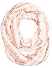 s.Oliver Damen Schal 39704912045, Orange (Orange Stripes 20G1), One Size