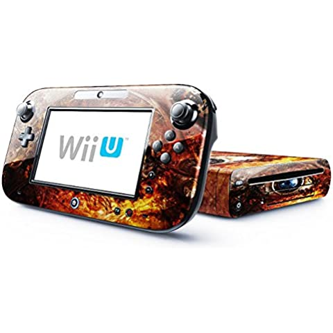Colección 145, Custom Consola Nintendo DS Lite, 3DS, 3DS XL, Wii U Diseño Pantalla Skin Protector Funda Abstrakt 10127 Nintendo Wii U