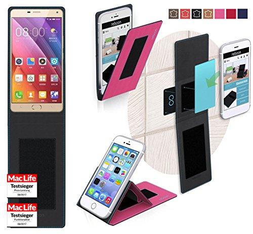 reboon Hülle für Gionee Marathon M5 Plus Tasche Cover Case Bumper | Pink | Testsieger