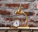 NIDAYE CNBBGJ Retro Wecker Hahn, Uhr, personalisierte Creative Bar Restaurant Cafe Halle Dekoration, EIN