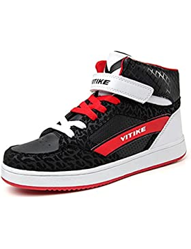 Zapatillas de Deporte Exterior Baloncesto Unisex Niños Chicas Chicos Zapatos Trainers Sneaker