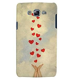 Citydreamz Red Hearts/Love/Valentine Hard Polycarbonate Designer Back Case Cover For Samsung Galaxy Grand Neo/Grand Neo Plus I9060I