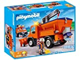 Playmobil - 4046 - Chauffeur avec camion Chasse Neige