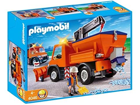 Playmobil Camion Benne - Playmobil - 4046 - Chauffeur avec camion