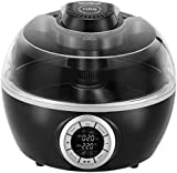 VonShef Multi Cooker Cook Robot - Digital Low Fat Air Fryer with 6 Cooking Options 6 Litre in Black
